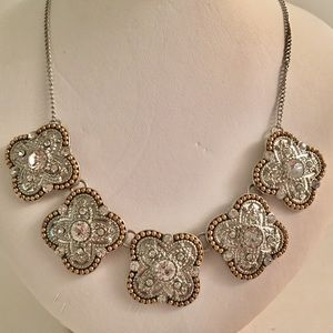 Jewelry - Vintage Crystal Alhambra Necklace